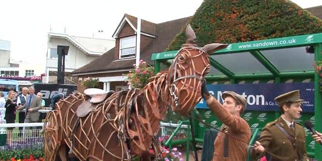 Animatronisches Pferd