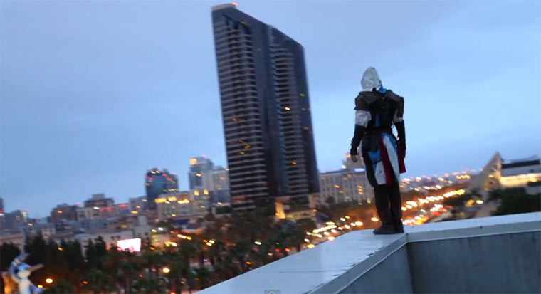 Assassin's Creed Cosplay Parkour