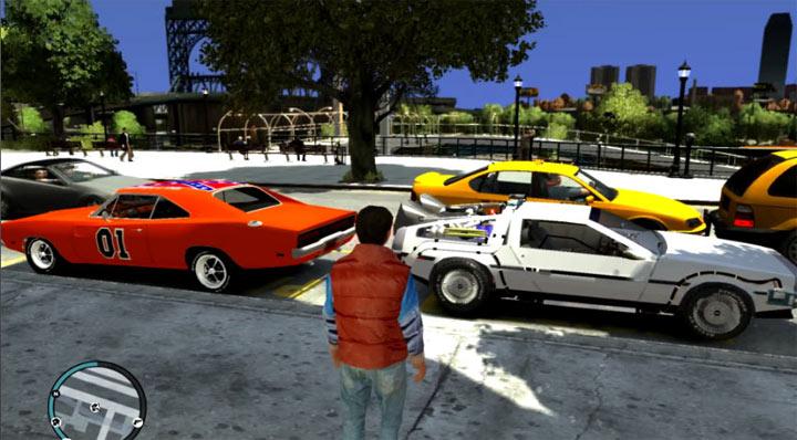 Awesome Back To The Future-GTA IV-Mod