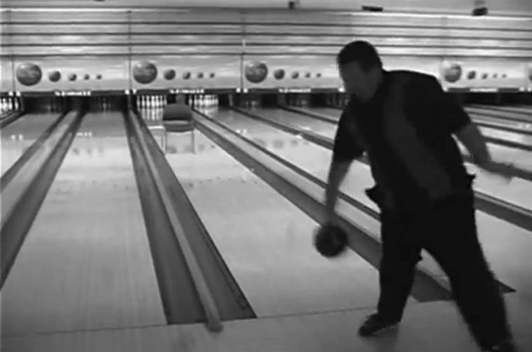 Bowling: Rückwärts-Trickshots
