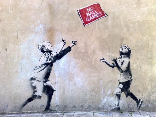 Banksy: Hotel ruft zum Kunstdiebstahl auf