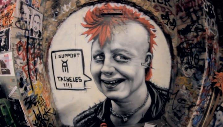 rappende Street-Art: Berlin spricht für sich
