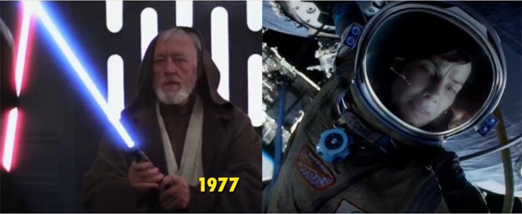 Visual Effects im Laufe der Zeit