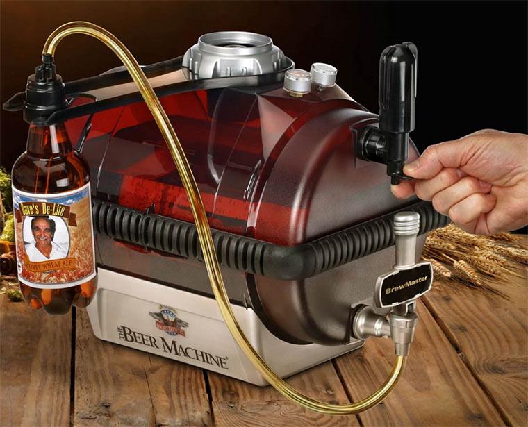Gewinn eine Biermaschine