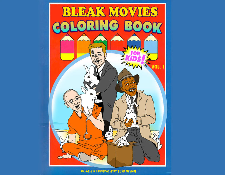 Kindermalbuch der trostlosen Filmszenen