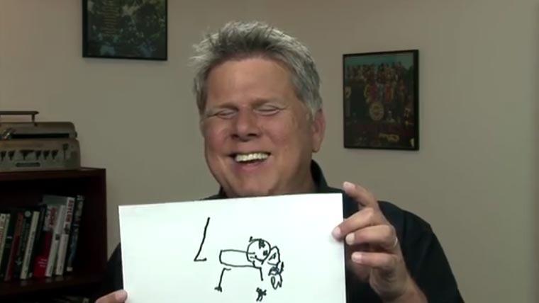 Wie sieht es aus, wenn Blinde zeichnen?