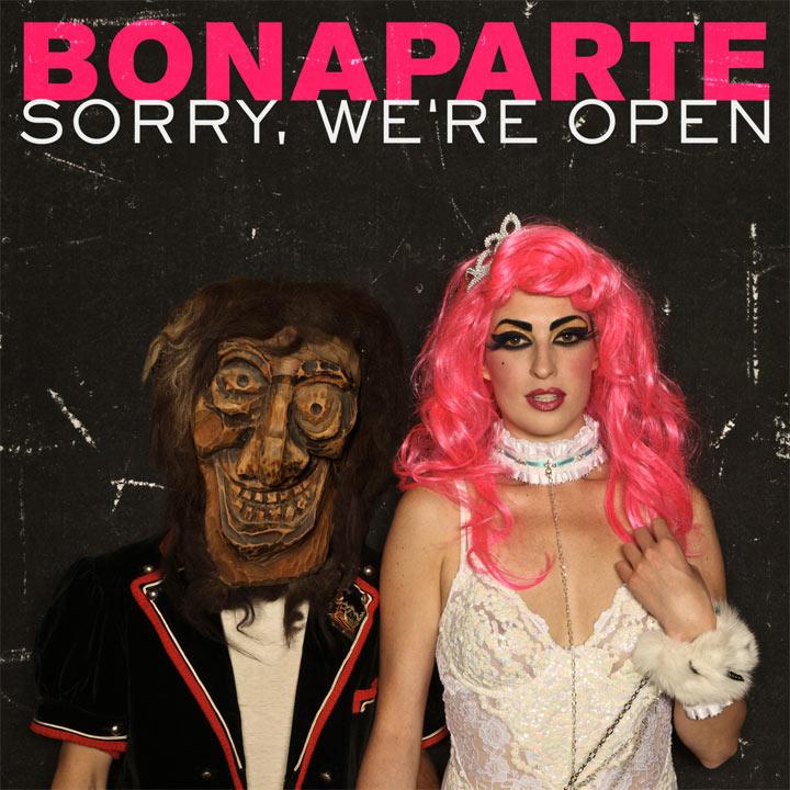 Albumstream: Bonaparte – Sorry, We're Open