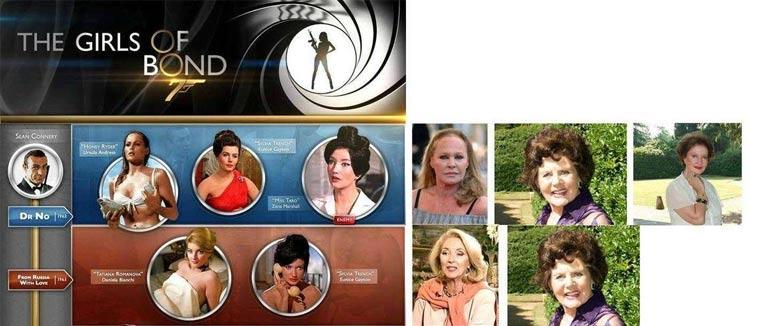 Wie die Bond-Girls heute aussehen