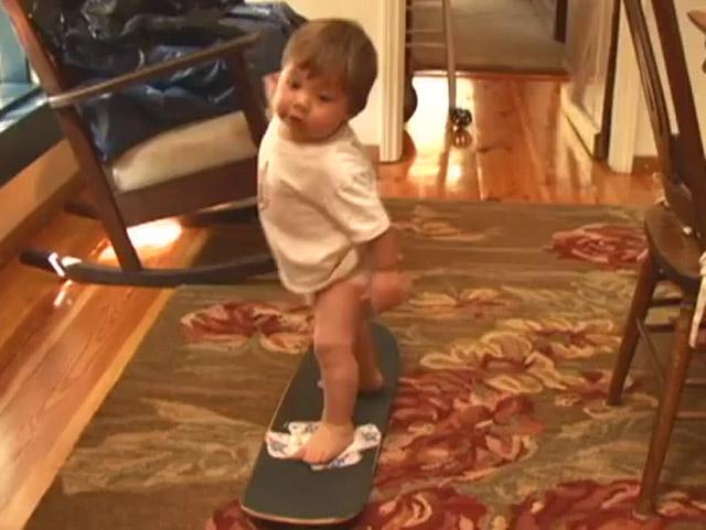 Skateboard-Baby-Doku: Born In