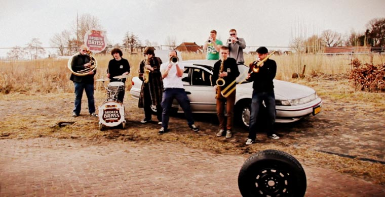 Broken Brass Ensemble – Thrift Shop (Macklemore Cover)