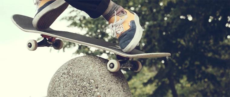 Skateboarding: Cheesy Minds & Goat Times