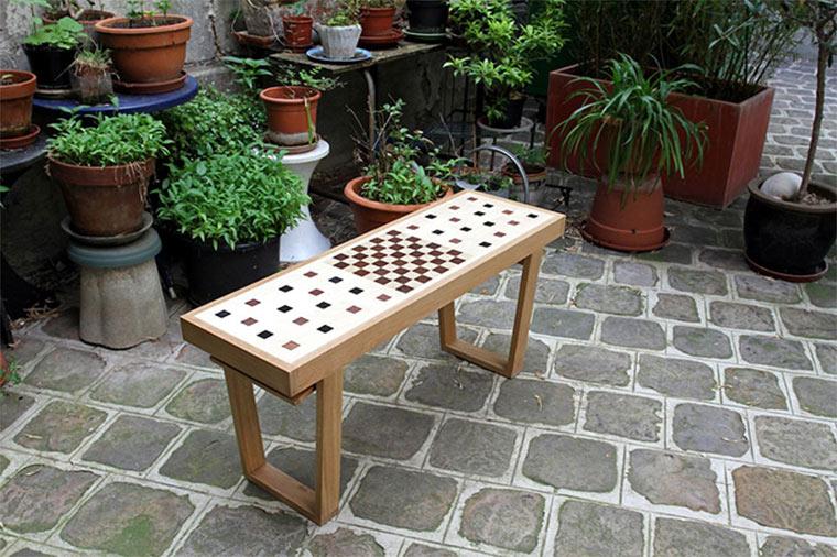 Schachspielbank