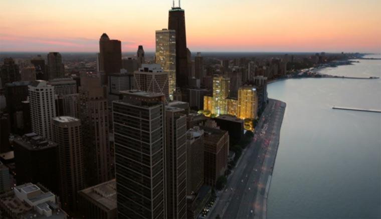 Chicago spielt Bach in Lumineszenzen