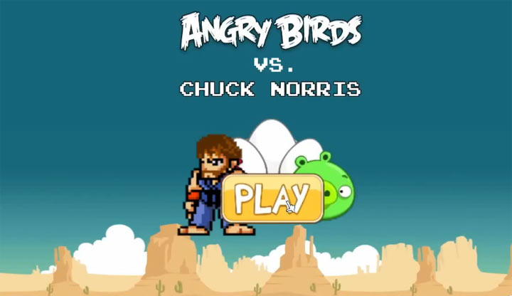 Chuck Norris vs. your favorite video games