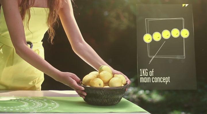 visuelle Agenturdarstellung: Citronnade