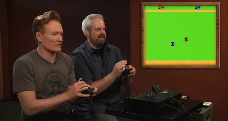 Conan spielt Atari 2600