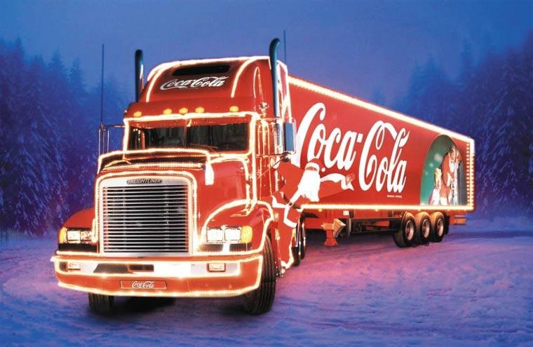 Coke-Weihnachtstruck auf Tour [Gewinnt Audio- und Warmhalt-Accessories!]