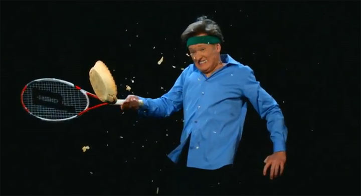 Conan's Super-Slowmotion-Sauerei