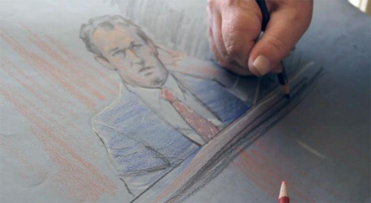 Courtroom Sketch Artist