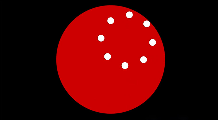 Der rotierende Kreis, der keiner ist