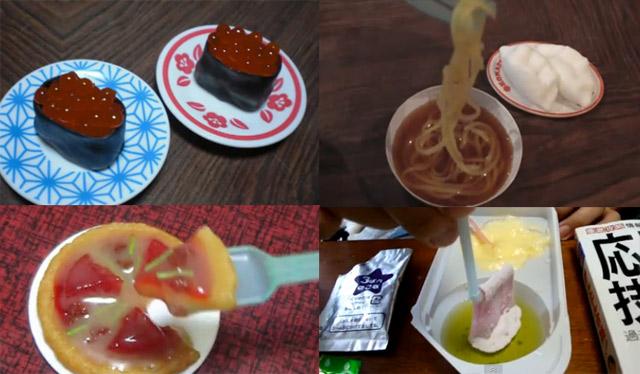 Japan, echt ey: strange Süßigkeiten-Bausatz-Küche