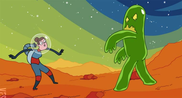 Animated Short: Attack of the Creeping Sludge