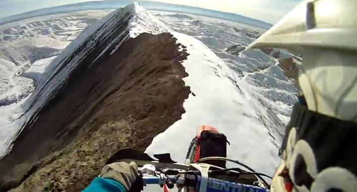 Gipfelmotorradfahrt
