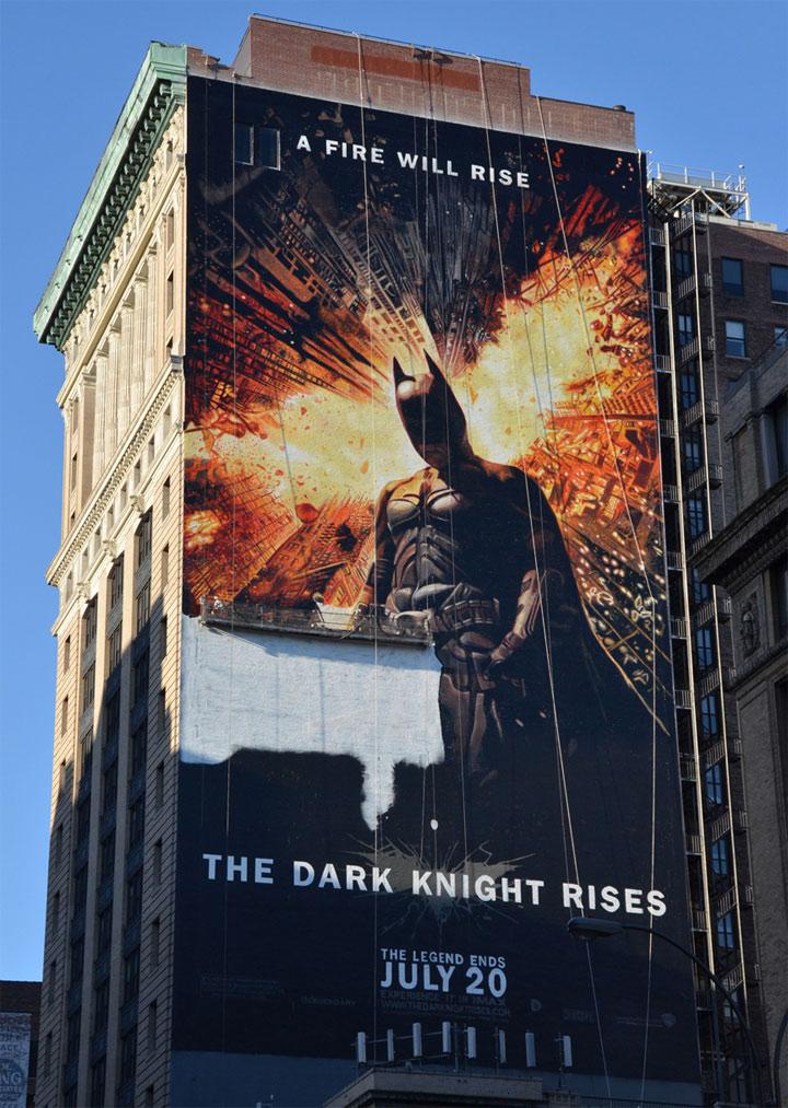 Batman: handgemaltes Riesenposter (45m)