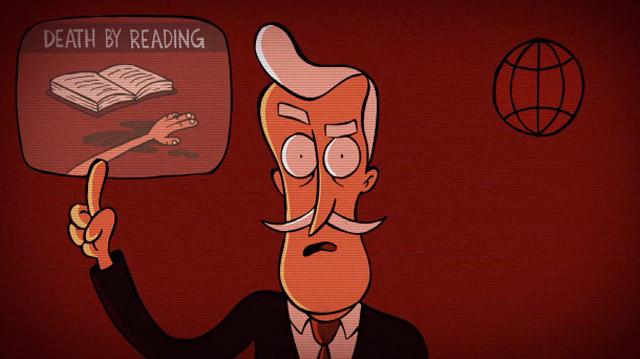 Animation Short: Reading Kills