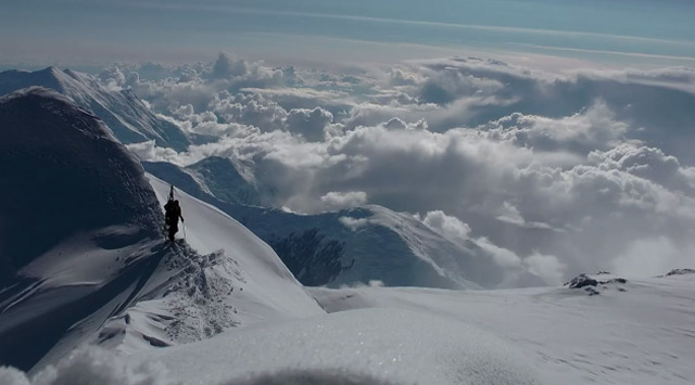 Bergstieg und Skiabfahrt: The Denali Experiment