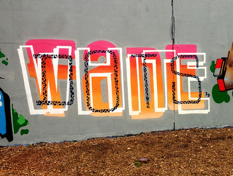 Double Word Graffiti