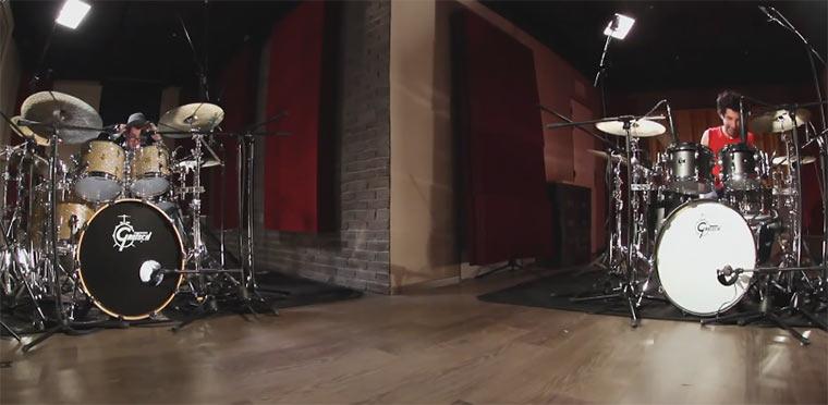 Drummer Battle: Jazz vs. Metal