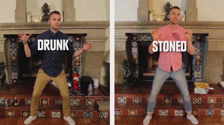 Drunk vs. Stoned
