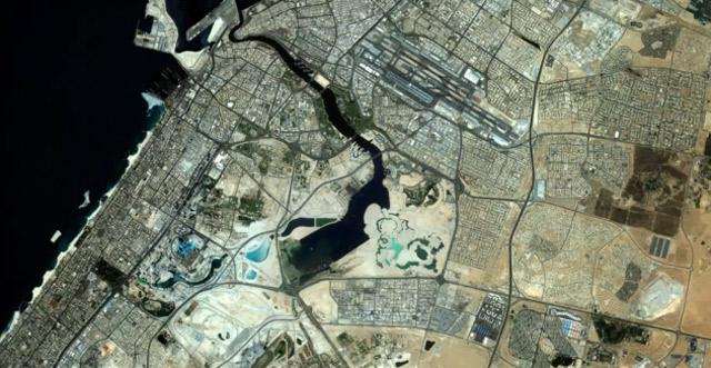 Dubai Satellite Timelapse