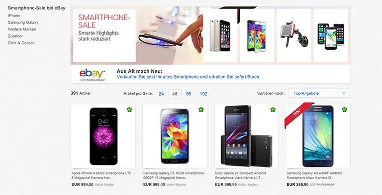 Smartphone-Sale bei eBay eBay-Smartphone-Sale_02