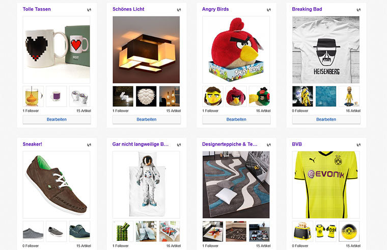 Weitere meiner eBay-Kollektionen
