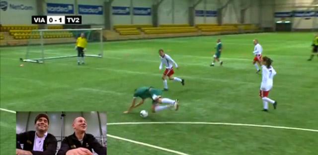 Elektroschock-Fußball