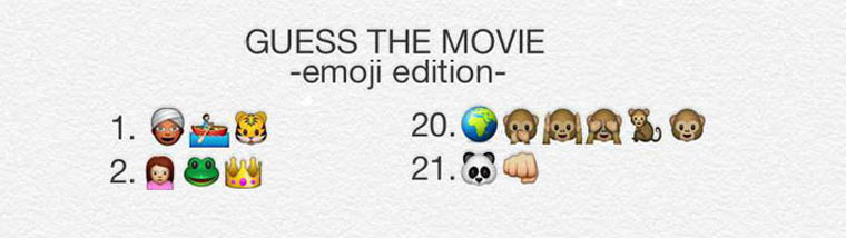 Emoticon-Filmquiz