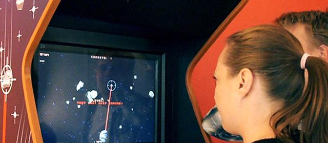 Eye Asteroids: Spielend wegballern mit den Augen