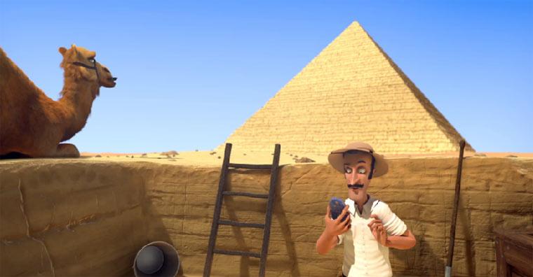 Ferngesteuerte Pyramiden
