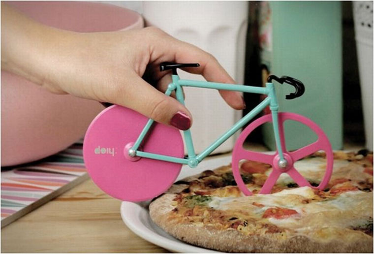 Rennrad-Pizzaschneider