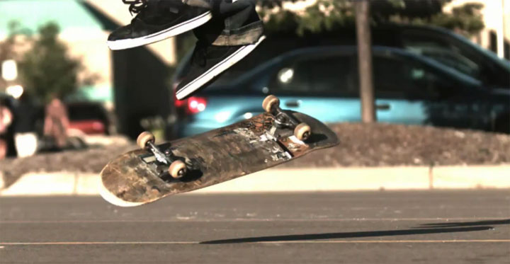 Skateboard: Ground Tricks in 1.000 fps