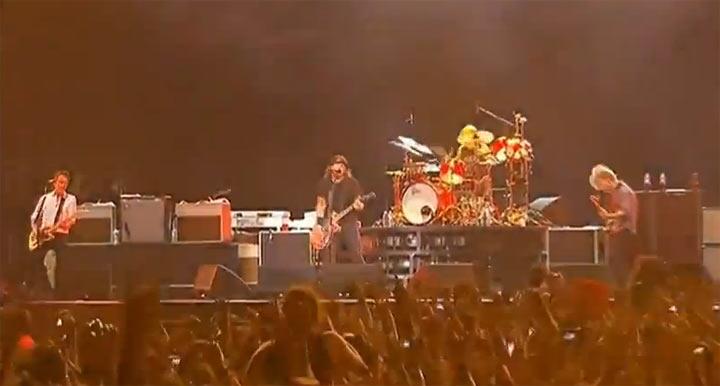 Foo Fighters Live @ Lollapalooza 2012