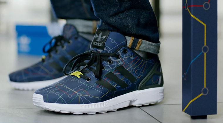 Modern Camouflage-Style: Adidas Zx Flux