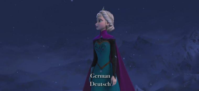 Frozen: Songversion in 25 Sprachen