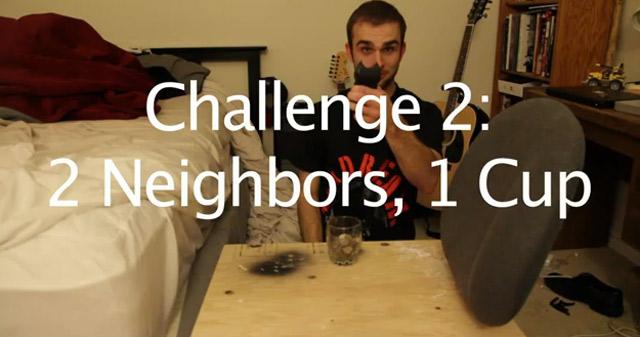 Das Spiel mit den lautstark kopulierenden Nachbarn