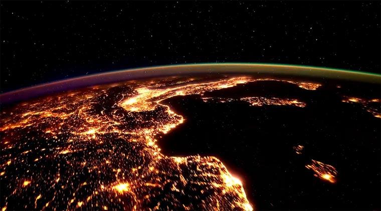Timelapse von der ISS: Further Up Yonder