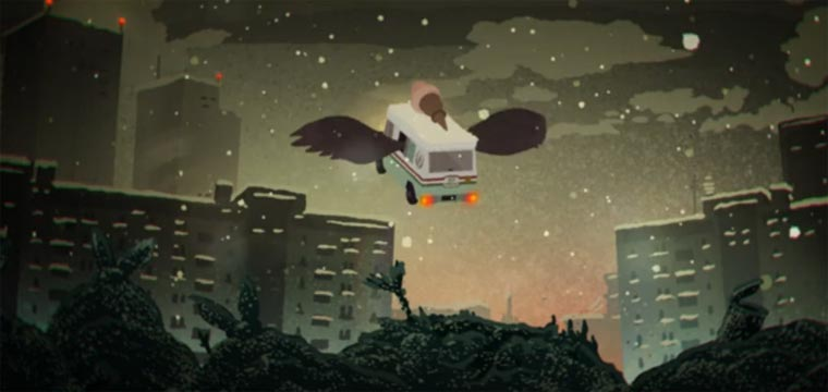 Eiswagen sind Zugvögel