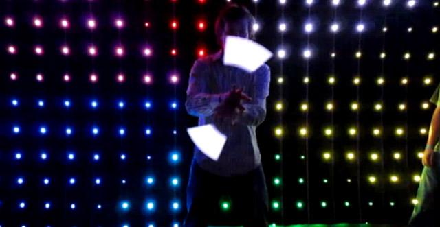 """Simpel aber """"hui"""": Glowstringing"""