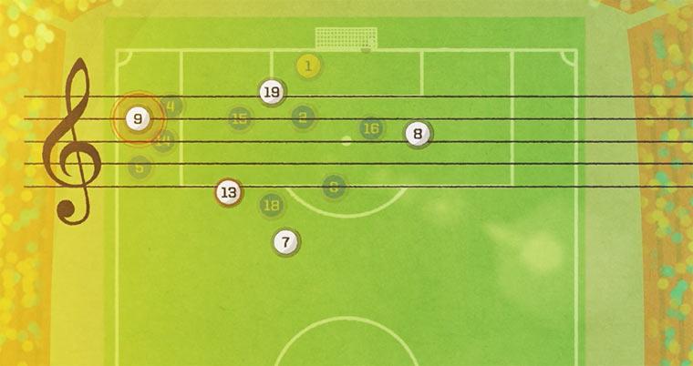 Musik aus Fußballtoren
